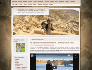 unmundoenlamochila.wordpress.com screenshot
