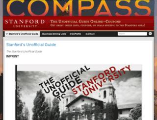unofficial.stanford.edu screenshot