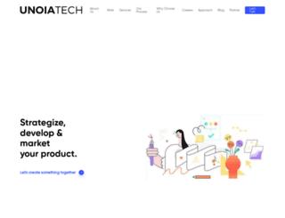 unoiatech.com screenshot