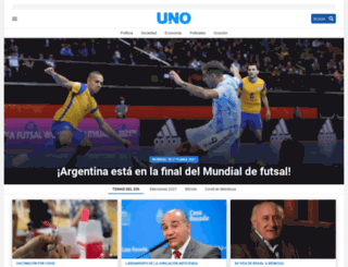 unosanrafael.com.ar screenshot
