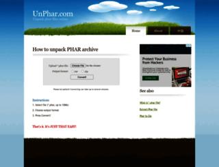 unphar.com screenshot