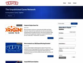 unpub.net screenshot