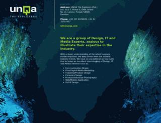 unqa.com screenshot