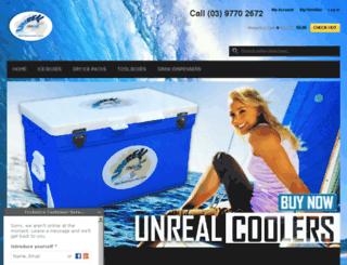 unrealcoolers.com.au screenshot
