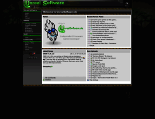 unrealsoftware.de screenshot