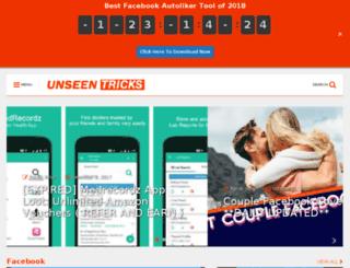 unseentrickx.blogspot.in screenshot
