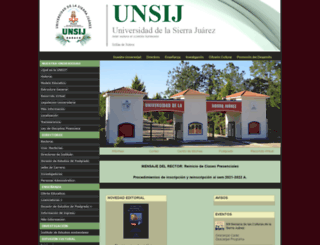 unsij.edu.mx screenshot