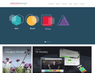 unstuckdesign.com screenshot