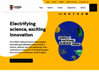 unsw.edu.au screenshot