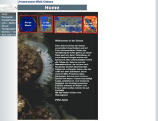 unterwasser-welt-ostsee.de screenshot