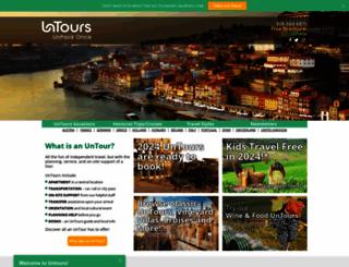 untours.com screenshot