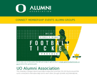 uoalumni.com screenshot