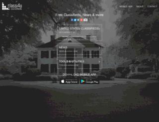 up.classi4u.com screenshot