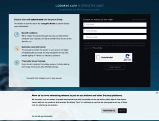 upbaker.com screenshot