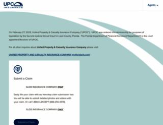 upcinsurance.com screenshot