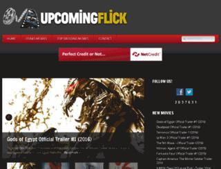 upcomingflick.com screenshot