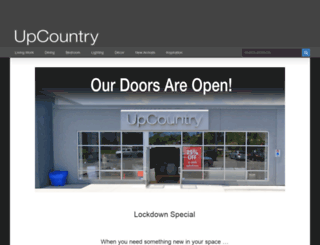 upcountry.com screenshot