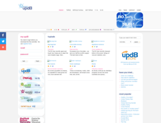 upd8.org.uk screenshot