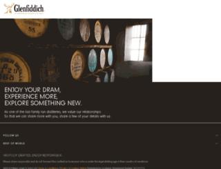 update.glenfiddich.com screenshot