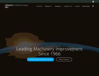 updateinternational.com screenshot