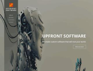 upfrontsystems.co.za screenshot