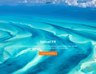 uploadfr.com screenshot