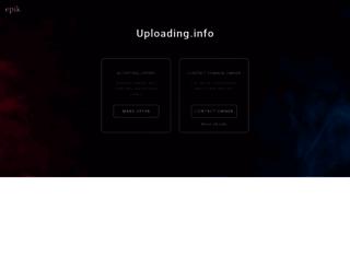 uploading.info screenshot