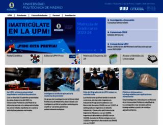 upm.es screenshot