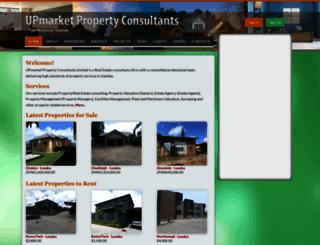 upmarketprop.com screenshot
