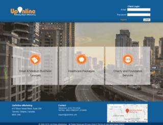 uponline.com screenshot