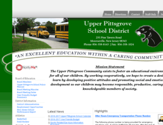 upperpitts.org screenshot