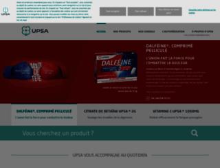 upsa-nosproduits.com screenshot