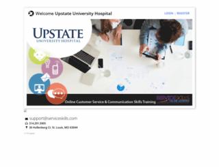 upstate.serviceskills.com screenshot