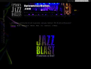 uptownjazzdallas.com screenshot