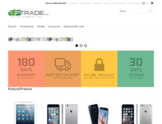 uptrade.co.uk screenshot