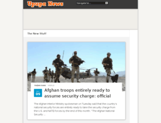 upupanews.com screenshot