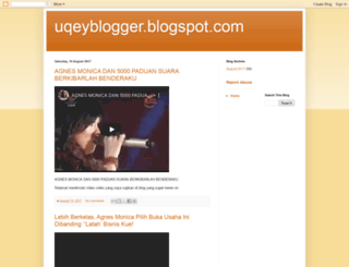 uqeyblogger.blogspot.com screenshot