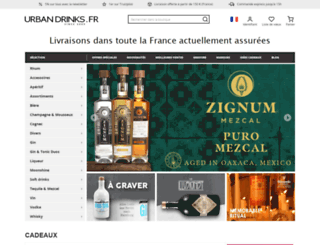 urban-drinks.fr screenshot