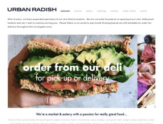 urban-radish.com screenshot