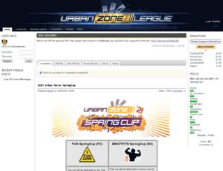urban-zone.org screenshot