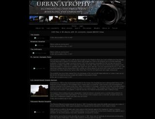 urbanatrophy.com screenshot