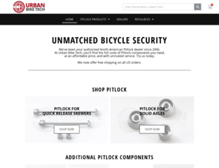 urbanbiketech.com screenshot