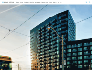 urbancapital.ca screenshot