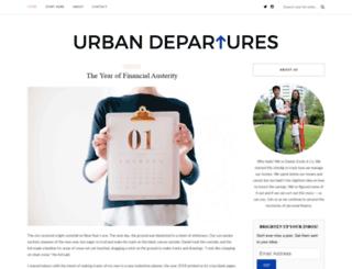 urbandepartures.com screenshot