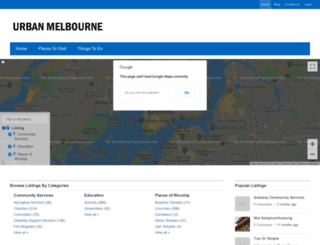 urbanmelbourne.info screenshot