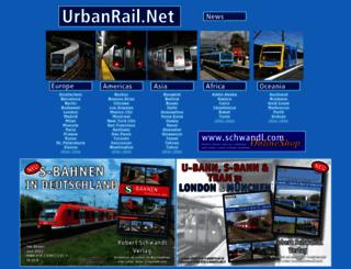 urbanrail.net screenshot