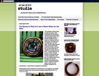 urbanstitchstudio.blogspot.com screenshot