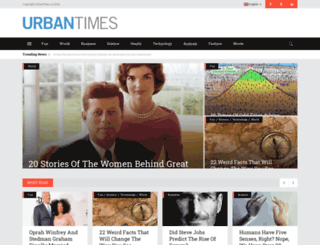 urbantimes.co screenshot