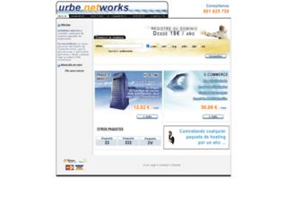 urbe-networks.com screenshot