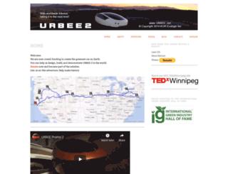 urbee.net screenshot